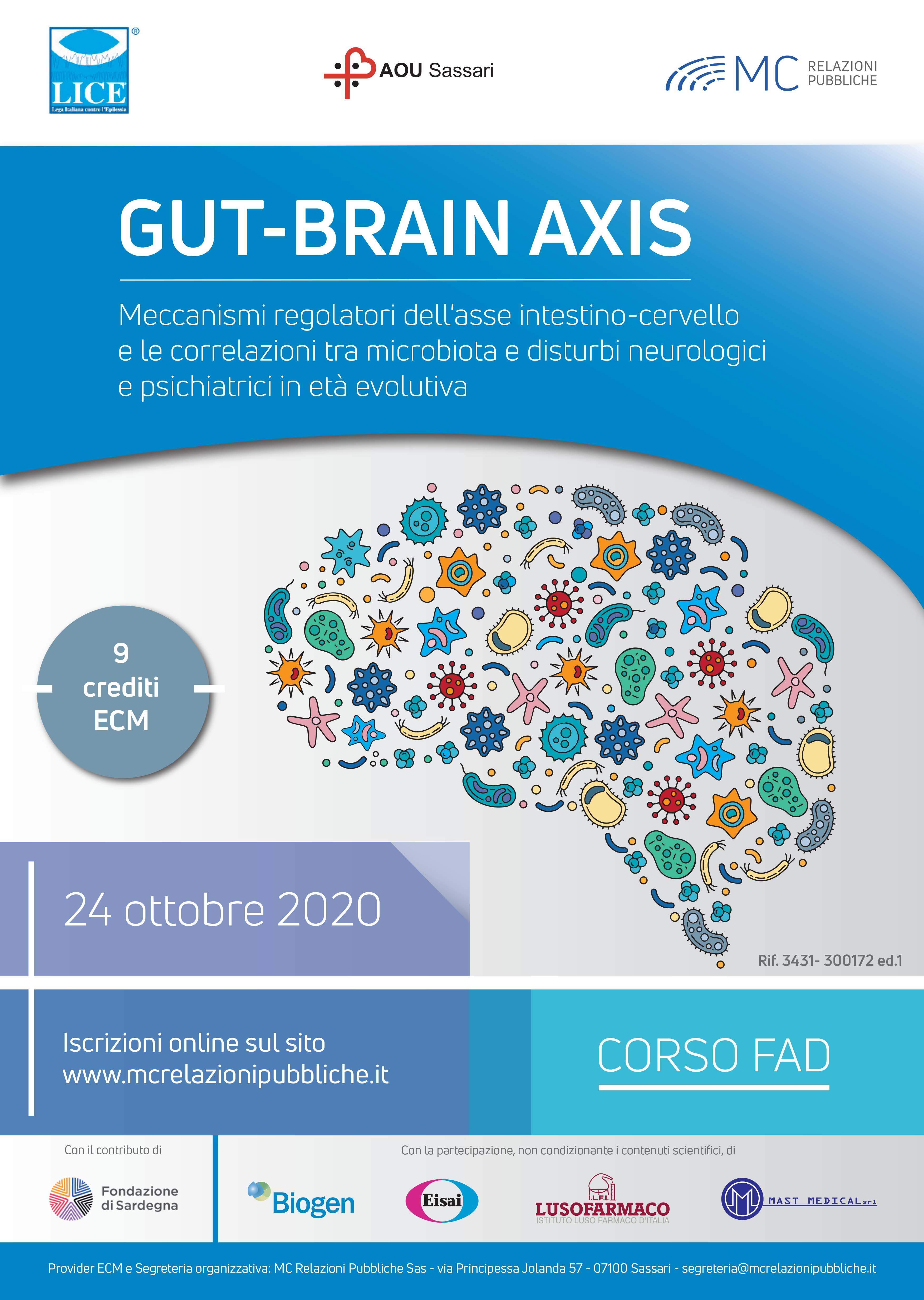 Gut-Brain Axis - 24 ottobre 2020