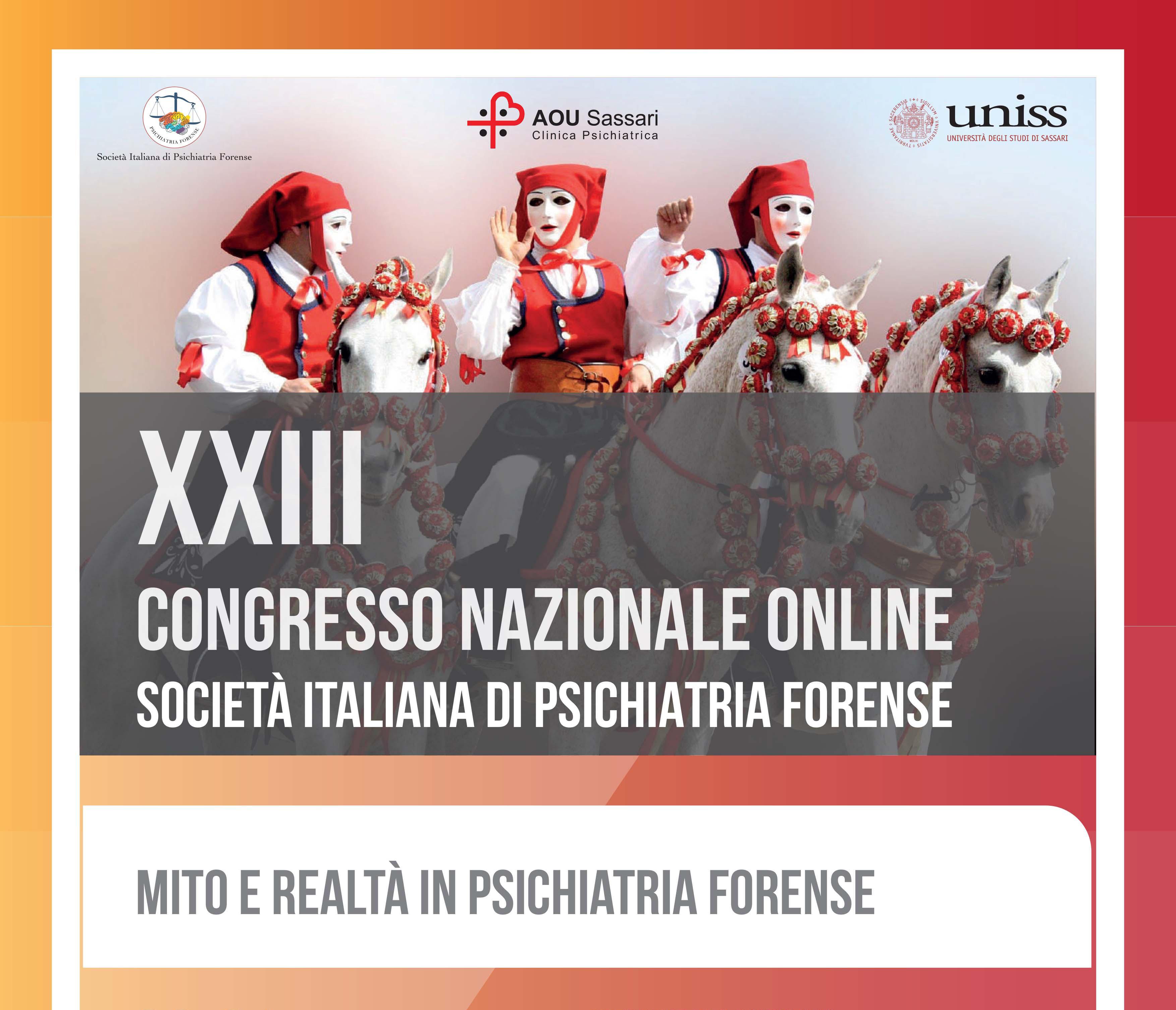XXIII Congresso Nazionale SIPF  - 30/31 ottobre 2020