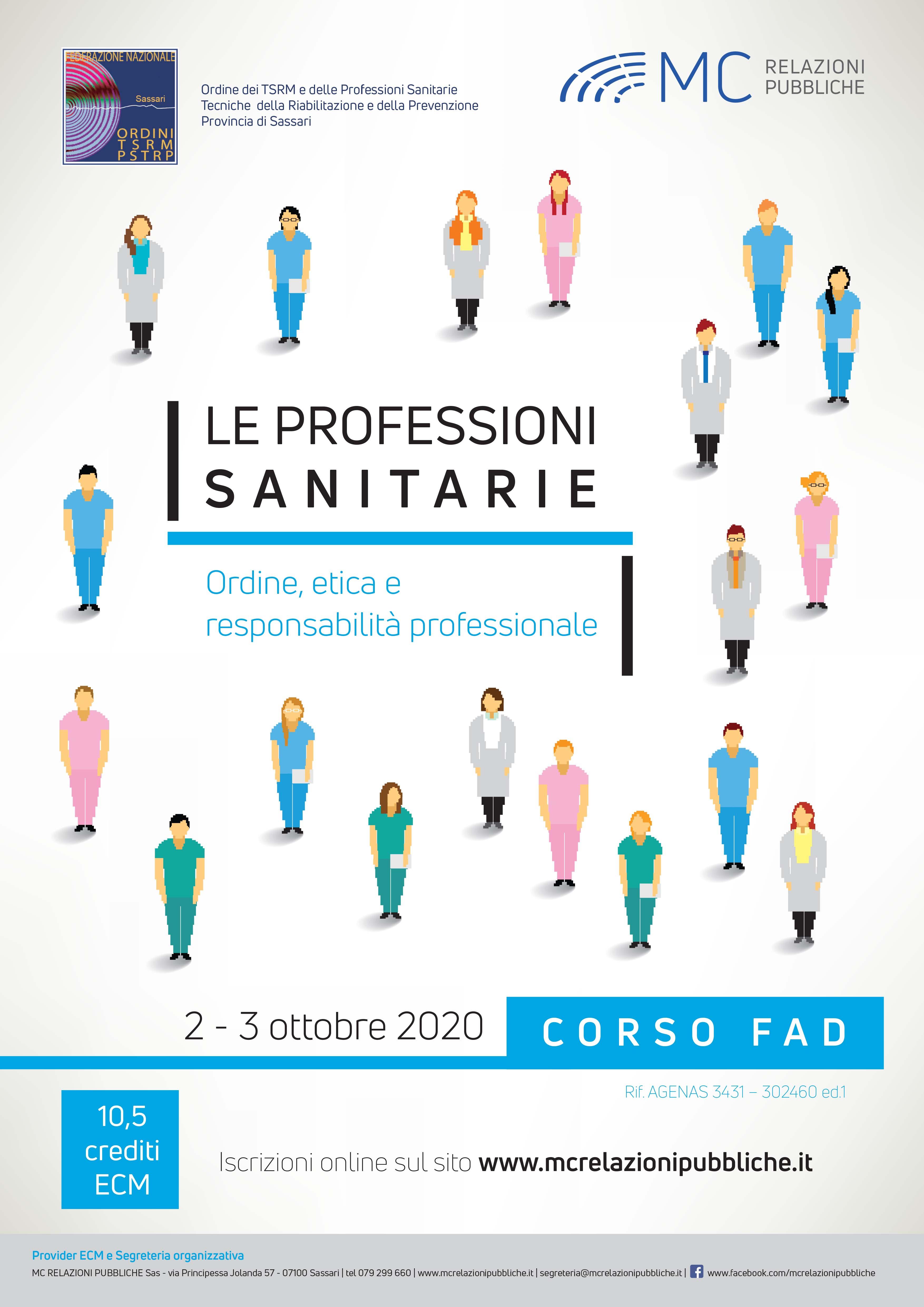 Le Professioni Sanitarie - 2/3 ottobre 2020